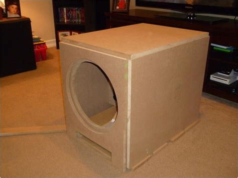 home subwoofer box plans plougonvercom