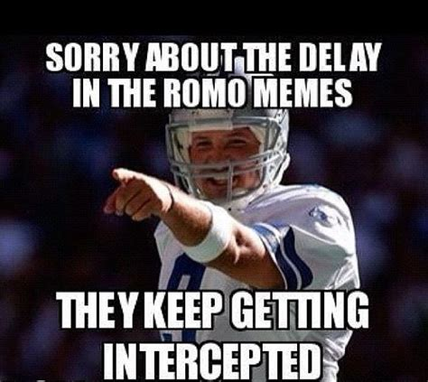 Tony Romo Interception Meme - 42 best images about cowboys suck on pinterest washington redskins football and miami