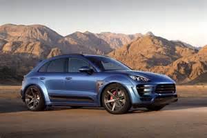 Porsche Russia New Porsche Macan Ursa Tune By Russia S Topcar