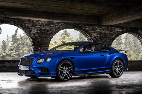blue bentley 2017 bentley continental supersports 2017 review pictures
