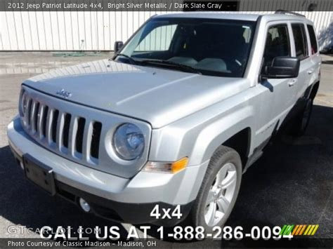 silver jeep patriot 2012 bright silver metallic 2012 jeep patriot latitude 4x4