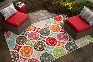 colorful outdoor rugs five ways to update your outdoor space mohawk homescapes