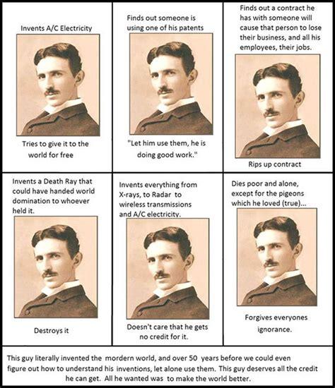Nikola Tesla Story Nikola Tesla Was Awesome