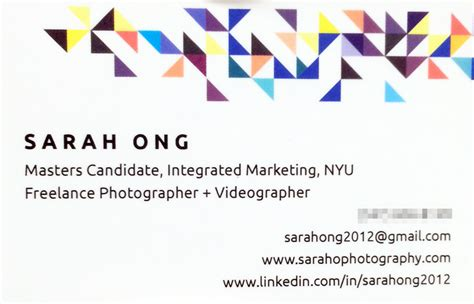 I Am An Mba Candidate by Mba Candidate Business Card What To Put On Your Business