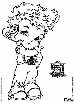 monster high thanksgiving coloring pages 17 best images about coloring pages on pinterest