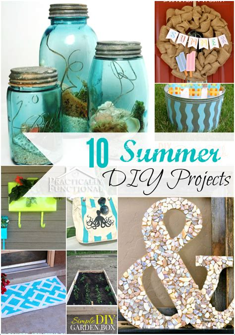 diy projects for summer 10 amazing summer diy projects