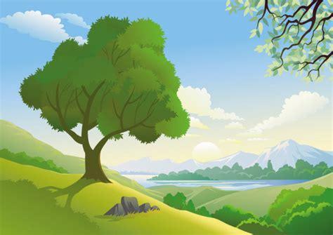 imagenes vectoriales de paisajes imagenes de paisajes en caricatura imagui