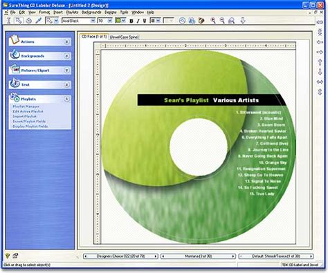 free label maker template surething cd label templates cd label software cd