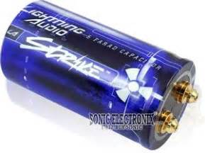 lightning audio capacitor installation lightning audio ls05 03 strike series 1 2 farad capacitor