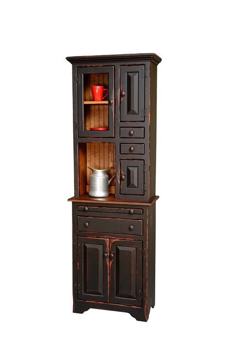 Small Hoosier Cabinet from DutchCrafters Amish Furniture