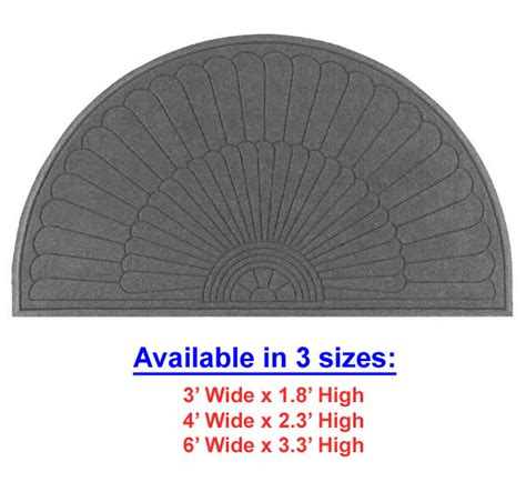 Waterhog Entrance Mats by Half Oval Grand Premier Waterhog Entrance Mats Are