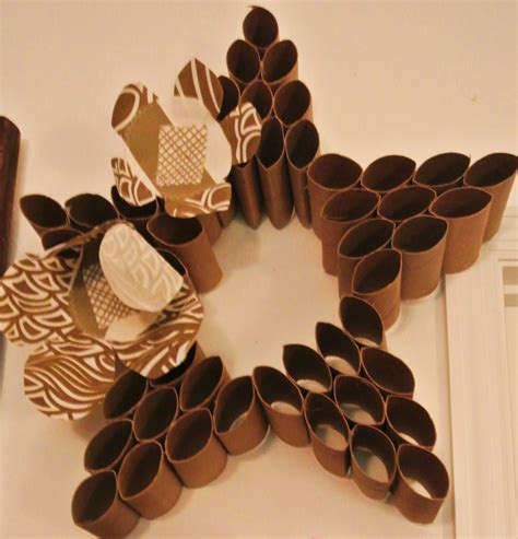 Paper Rolls Crafts - paper crafts toilet paper roll wall paper crafts