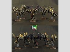 CoolMiniOrNot - 5 Chaos raptors with champion by Idler studio Imageshack.us Review