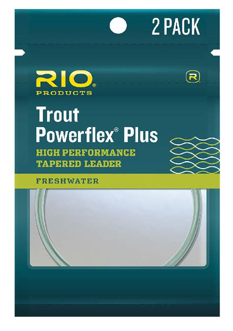 Ft Leader 1 powerflex plus 7 5 ft leader 2 pack tanga
