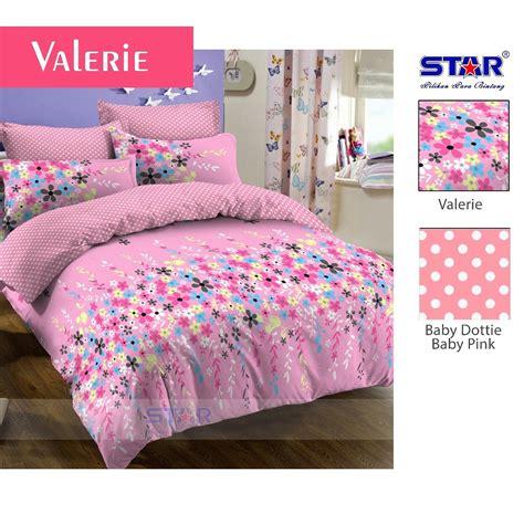 Sprei Set Polos Pink King Size Ukuran 180 X 200 grosir sprei katun panca dewasa bedcover murah