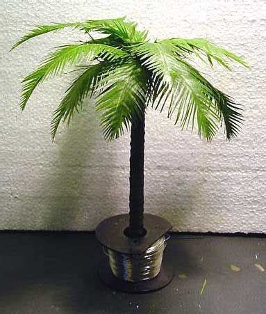 artificial palm tree for dollhouse make a palm tree vbs babylon courage of daniel palm miniatures and craft