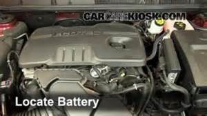 Buick Lacrosse Battery How To Jumpstart A 2010 2014 Buick Lacrosse 2011 Buick