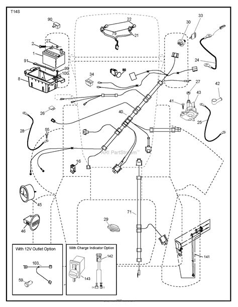 husqvarna gtxls    parts diagram  electrical