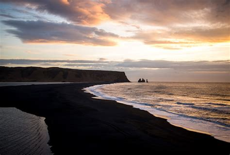 black sand beach iceland new photos of vik a breathtaking black sand beach in iceland