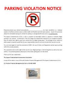 Parking Infringement Dispute Letter Sle Notice Pictures To Pin On Pinsdaddy