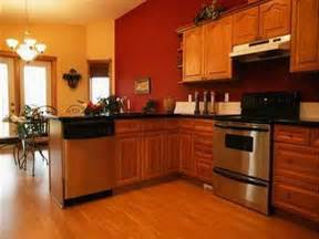 Paint Colors For Kitchen With Oak Cabinets Planning Ideas Kitchen Paint Colors With Oak Cabinets And Stainless Steel Appliances Kitchen
