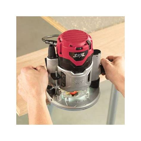 Skil 1830 Powerful 120 Volt 2 1 4 Hp Combo Base Router Kit