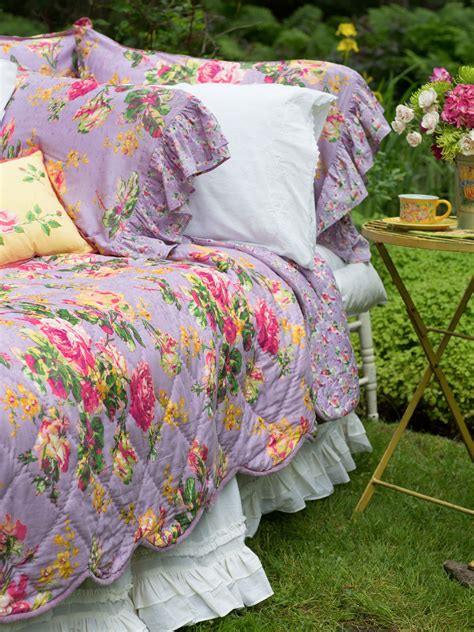 april cornell bedding victorian rose quilt lavender attic sale your home