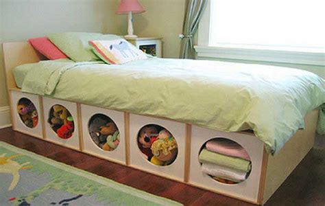 simple under bed storage budget ideas for childrens top 28 clever diy ways to organize kids stuffed toys