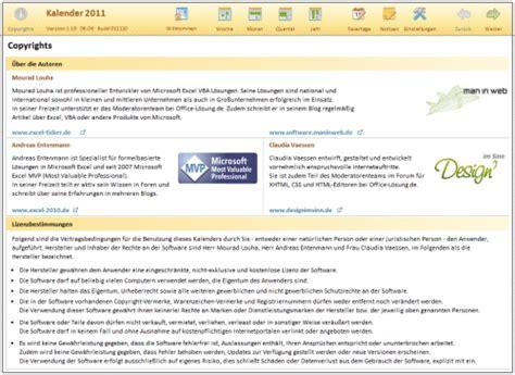 excel 2007 und excel 2010 kalendervorlage de de excel