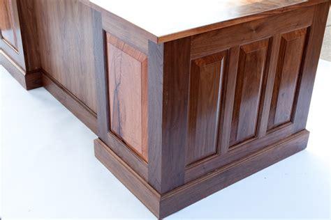 Mesquite Desk by Mesquite Executive Desk Build Part 3 Lone