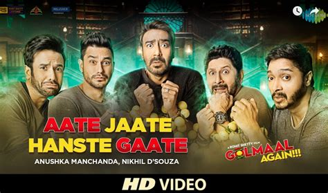 download mp3 from golmaal again aate jaate promo hd video song golmaal again