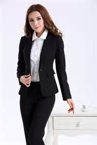 Women business suits formal office suits work wear autumn winter 2015