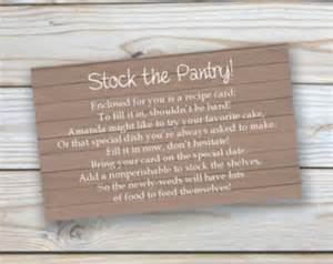 stock the pantry etsy