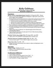 Preschool Resume Objective Exles by Preschool Resume Resumes Design