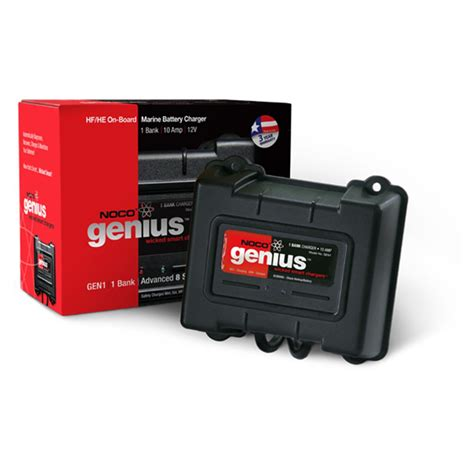 on board battery chargers for boats reviews noco genius 3 bank on board marine battery charger