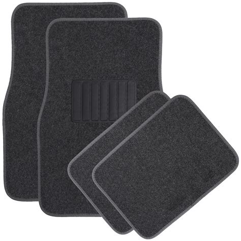 car auto floor mats for honda accord heavy duty semi custom fit charcoal carpet ebay