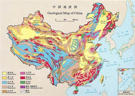 geological map of china size