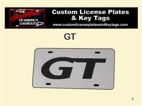 Vanity License Plate Translator by Custom Vanity License Plates Wmv