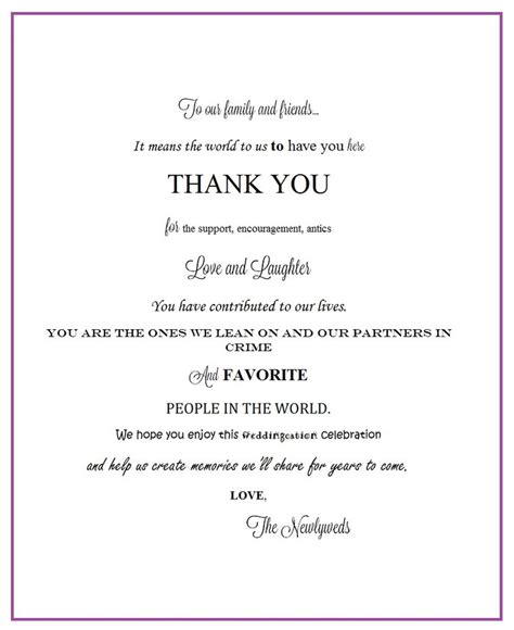 thank you letter sle wedding gift thank you letter sle gift 28 images thank you letter