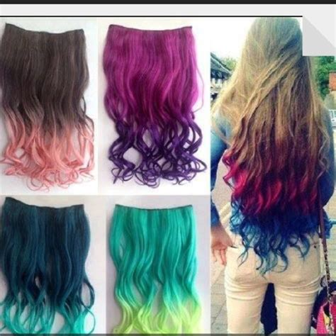 dye bottom layer hair bottom layer dyed extensions on the hunt