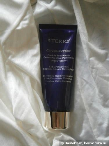 by terry cover expert perfecting fluid foundation 10 golden sand мой хороший by terry cover expert perfecting fluid