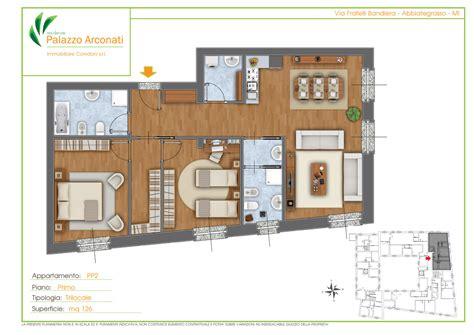 planimetrie appartamenti esempi piantine colorate arredate planimetrie per la vendita