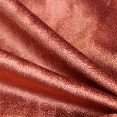 Upholstery Weight Fabric by Rust Cotton Velvet Upholstery Weight Fabric Commercial Curtain