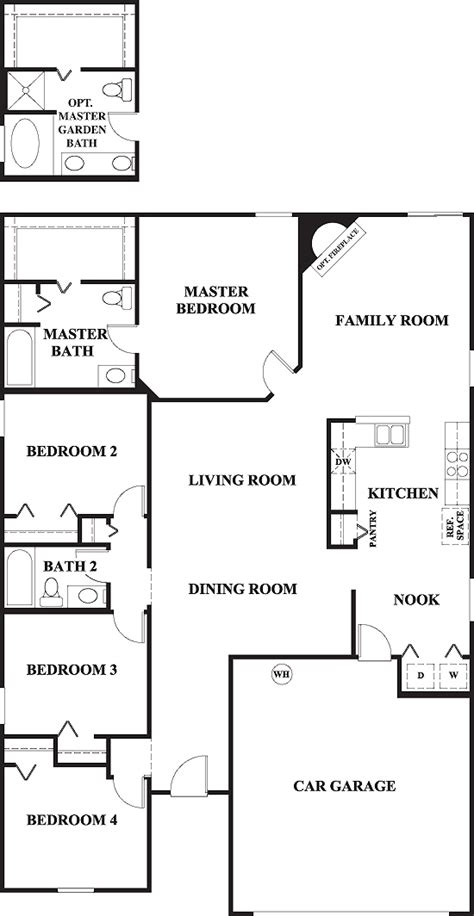 2 car garage townhome plans engine diagram and wiring