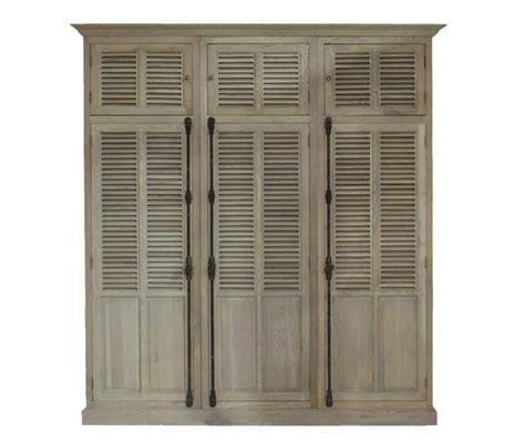 Louvre Wardrobe Doors by Block Chisel Louvre 3 Door Wardrobe Furniture