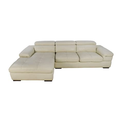 cream leather l shaped sofa shop craps coffee table