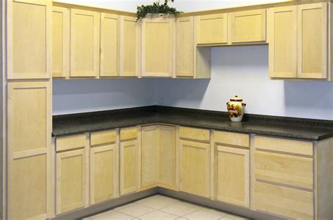 unfinished maple kitchen cabinets unfinished wood kitchen cabinets