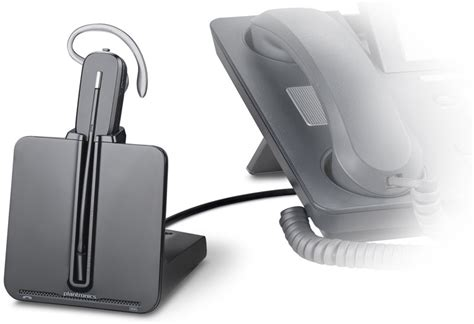wireless headset for desk phone amazon com plantronics cs540 convertible wireless headset