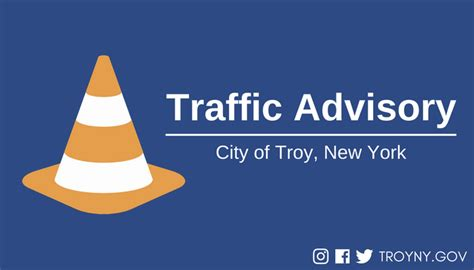 Troy New York Birth Records Troy Officials Issue Traffic Advisory For Burdett Avenue Troy Ny