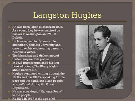 langston hughes mini biography langston hughes parents www imgkid com the image kid